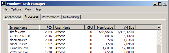 [Task manager - Firefox at 1.5GB]